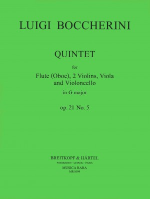 Boccherini: Quintett G-dur op. 21/5