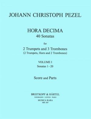 Pezel: Sämtl.'Hora Decima'- Sonaten 1