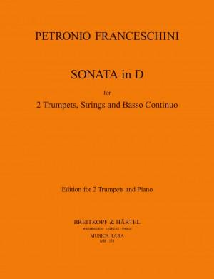 Franceschini: Sonata in D