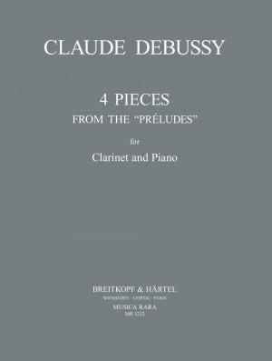 Debussy: Vier Stuecke