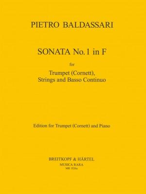 Baldassare, P: Sonata in F Nr. 1
