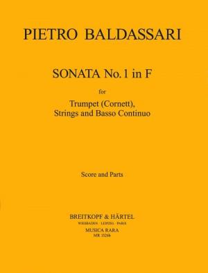 Baldassare: Sonata in F Nr. 1