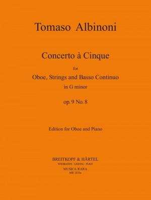 Albinoni, T: Concerto a 5 in g op. 9/8