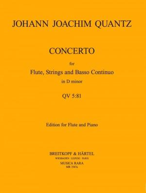 Quantz, J: Flötenkonzert in d