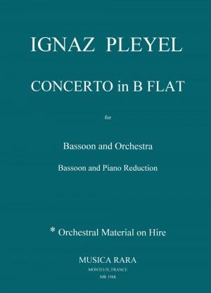 Pleyel, I J: Concerto in Bb major B 107