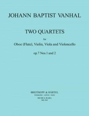 Vanhal: Quartett op. 7/1+2