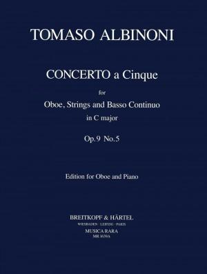 Albinoni, T: Concerto a 5 in C Op. 9/5 op. 9/5