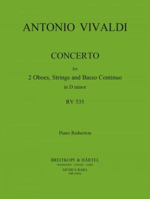 Vivaldi, A: Concerto in d RV 535