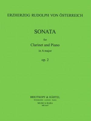 Rudolf: Sonate in A op. 2