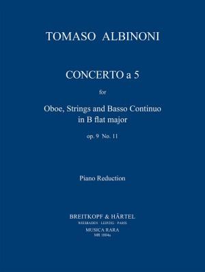 Albinoni, T: Concerto a 5 in B op. 9/11