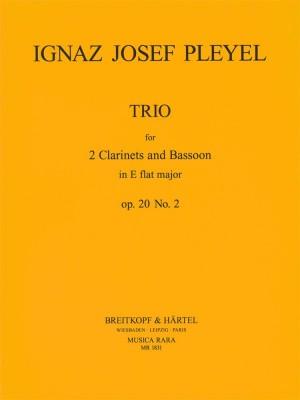 Pleyel: Trio in Es op. 20 Nr.2