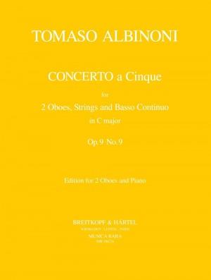 Albinoni, T: Concerto à 5 C major op. 9/9