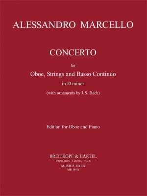 Marcello, A: Concerto in D minor
