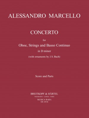 Marcello: Concerto for Oboe, Strings and Basso Continuo in D minor