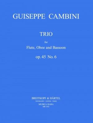 Cambini: Trio op. 45 Nr. 6