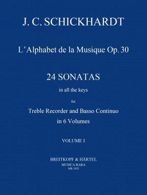 Schickhardt: L'Alphabet: Sonaten op.30/1-4