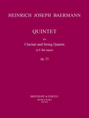 Baermann: Quintett in Es op. 23