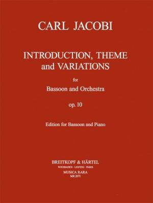 Jacobi: Introd., Thema u. Var. op. 10