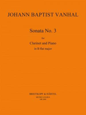 Vanhal: Sonate in B Nr. 3