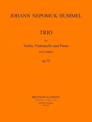 Hummel: Klaviertrio G-dur op. 35