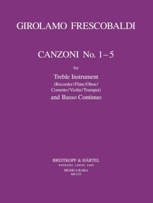 Frescobaldi: Canzonas 1-5