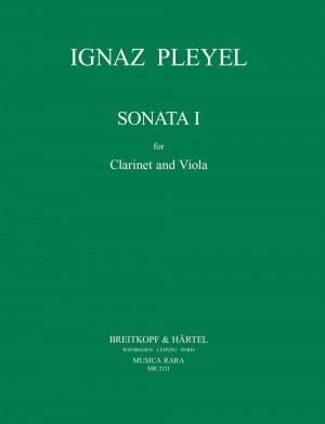 Pleyel: Sonata Nr. 1 BEN 5491