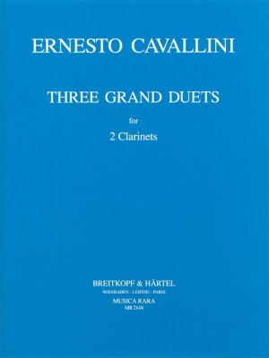 Cavallini: Drei Grosse Duette