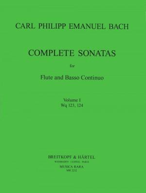 Bach, CPE: Sonaten, Band 1 Wq 123,124