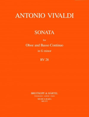 Vivaldi: Sonate g-moll  RV 28