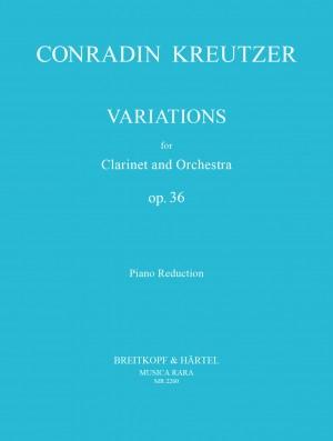 Kreutzer: Variations op. 36