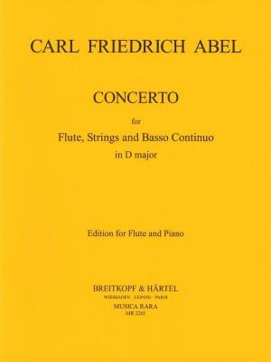 Abel, C: Flötenkonzert