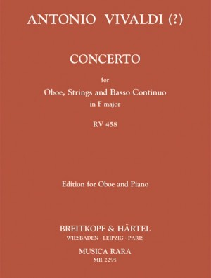 Vivaldi, A: Concerto C-dur RV 458
