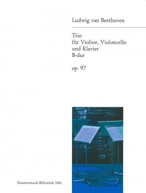 Beethoven, L v: Piano Trio in Bb major Op. 97 op. 97