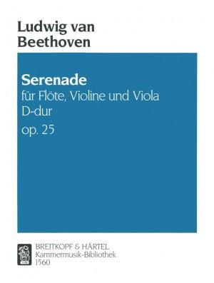 Beethoven, L v: Serenade in D major Op. 25 op. 25