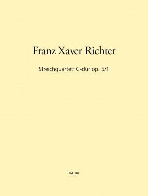 Richter: Streichquartett C-dur op. 5/1