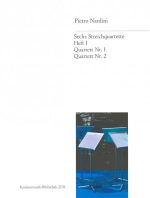 Nardini: 6 Streichquartette Heft 1