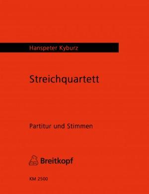 Kyburz: Streichquartett