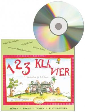 Ehrenpreis: 1 2 3 Klavier CD zu Heft 1 und 2