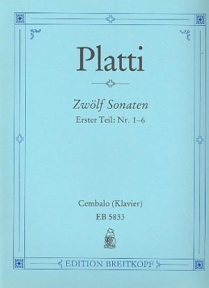 Platti: Zwölf Sonaten, Heft 1