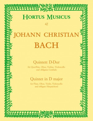Bach, JC: Piano Quintet in D