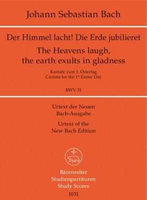 Bach, JS: Cantata No. 31: Der Himmel lacht (BWV 31) (Urtext)