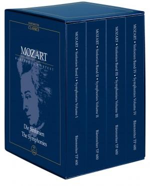 Mozart, WA: Symphonies Complete. 4 Volume Study Score Edition (Urtext) Product Image