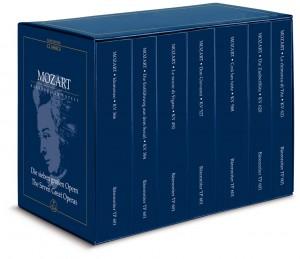 Mozart W.A: Operas, The Seven Great.  7 Volume Study Score Edition (Urtext).