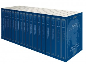 Bach, JS: Complete Cantatas in Paperback. 19 Volume Study Score Edition (Urtext). (Including Chorales and Motets)