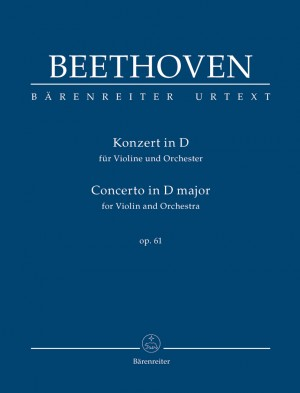 Beethoven, L: Concerto for Violin and Orchestra D major op. 61 (Urtext) (Study Score)