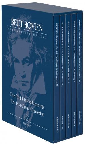 Beethoven, Ludwig van: The Five Piano Concertos