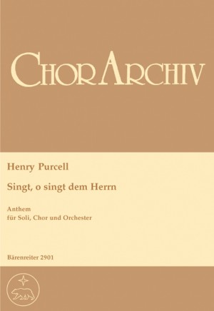 Purcell, H: O Sing unto the Lord (E-G)