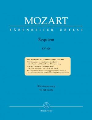 Mozart, WA: Requiem (K.626) (Eybler & Suessmayr completion) (Urtext)