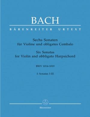 Bach, JS: Sonatas (6) (BWV 1014 - 1016), Vol. 1 (Urtext). Performance part by Andrew Manze