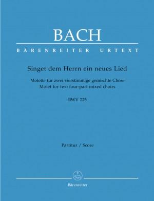 Bach, JS: Motet No.1: Singet dem Herrn ein neues Lied (BWV 225) (Urtext)